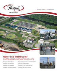 Hartzell Air Movement water and wastewater bulletin cover