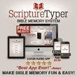 Scripture Typer Bible Memory App Released Just in Time for New Year's...