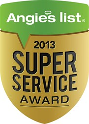 Kilowatt Air Conditioning, Heating and Elictric winning Angie's List Award