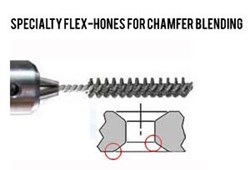 Flex-Hone® Tools for Chamfer Blending
