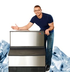 Ice machine subscriptions from Easy Ice are favored by Food Network's Chef Robert Irvine