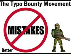 Typo Bounty Movement