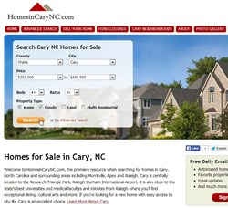 Cary, NC homes.