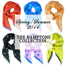 Spring / Summer 2014 Terracotta New York Scarf Collection
