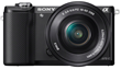 Sony Alpha 5000 Compact Interchangeable Lens Digital Camera (E-mount)