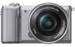 Sony Alpha 5000 Mirrorless Compact Interchangeable Lens Digital Camera - Silver
