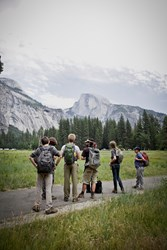 Students from the private Pasadena high school study their natural environment on a field trip