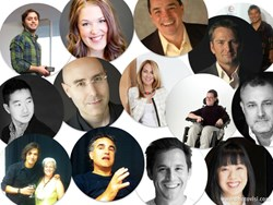 Some of the 52 pros interviewed by Tema Frank on the Frank Online Marketing Show