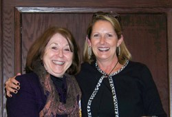"Claudia Smith recognized as ""Networker of the Year"" by Rebecca Wisner, Professional Business Network"