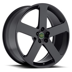 Redbourne Land Rover Wheels - the Nottingham in Matte Black