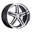 Mandrus Mercedes Wheels - the Mannheim in Gunmetal