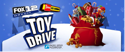 Pacific Office Automation Toy Drive Donation