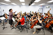 String instrument instruction at the middle school level at the independent Pasadena Waldorf School