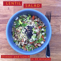 Easy to make healthy dinner and lunch n 20 minutes