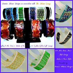 """Uptown/Downtown Collection"" by Donna's Artisan Designs"