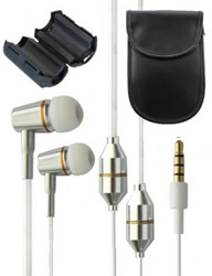 RF Safe Air-tube Headsets For Apple iPhone and Samsung Galaxy Smartphones