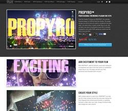 Final Cut Pro X Effects, FCPX Plugins, Pixel Film Studios, Special FX, Video Editing, PROPYRO