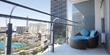 Cosmopolitan Hotel Room Balcony and Views- Superbones West