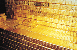 KMG Gold Fort Knox Gold Bars