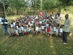 Christian outreach for children in third world country