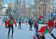 At the starting line: a wave of skiers at the 2013 Vasa