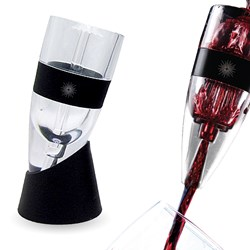 VinLuxe Wine Aerator - 100% Money Back Lifetime Guarantee.