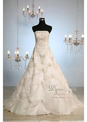 Gorgeous Organza Wedding Gown