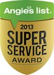 Thompson Creek Windows Earns Esteemed 2013 Angie's List Super Service...