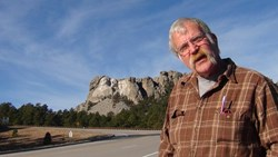 Frank files another video blog from the road near Mt. Rushmore,