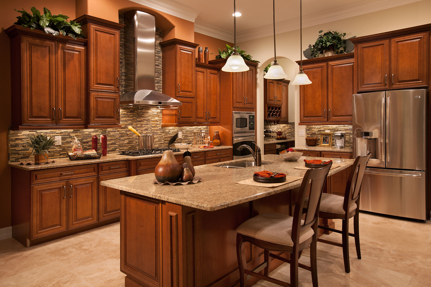 Commodel Kitchen : Horton Releases Washington Luxury Model in Fiddler's Creek