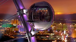 High Roller Observation Wheel Cabin