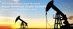 Pioneer Solutions attends Argus Americas Crude Summit 2014