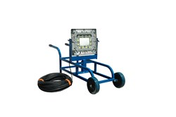 Portable Tank Cleaning LED Light Cart with 100 foot cord