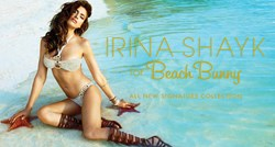 Irina Shayk For Beach Bunny Collection