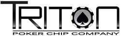 TRITON Poker Chip Company logo