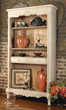 uttermost sylvianne, tall hutch 24205. accent furniture