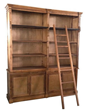 Classic Design Natural Bookcase 111-165N