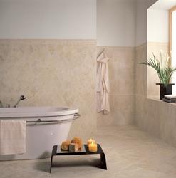 Tesoro Glazed Porcelain 3X12 nocciola senese floor bullnose from PIETRA LATINA - PAPLNSFLBN