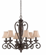 Triarch International 31443 - Jewelry 6 Light Chandelier