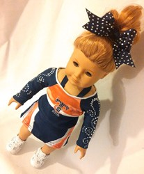 Total Cheer American Girl Cheer Uniform