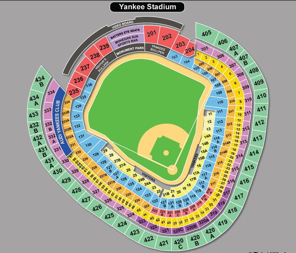 Ticket Monster Announces 2014 New York Yankees Schedule, Parking and ...