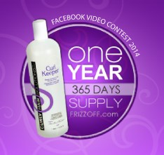 Curl Keeper, Curly Hair Solutions, Win a Year Supply of Curl Keeper, Facebook Contest