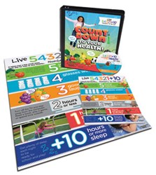 54321+10 Countdown for Your Health for Kids Program Curriculum