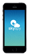 SkySpy iPhone 5 load page