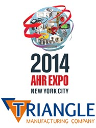 Triangle will be exhibiting for the second year in a row at AHR after a successful show in Dallas in 2013.