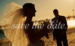 Seaside Vacations' 2014 Outer Banks Wedding Expo Promotion