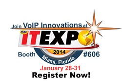 VoIP Innovations ITEXPO 2014
