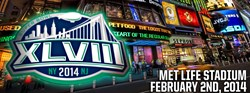 Super Bowl XLVIII poster