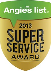 FrontPoint Security, Winner of 2013 Angie's List Super Service Award