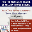 MOAA joins #KeepYourPromise in Twitter Townhall 9 pm Jan. 7